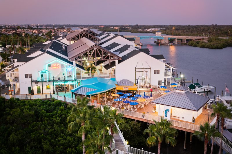 Holiday Inn & Suites Clearwater Beach S Harbour-After sunset the party continues at Jimmy Guana's Restaurant.<br/>Image from Leonardo