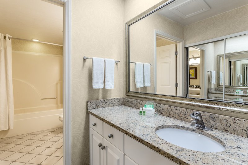 Holiday Inn & Suites Clearwater Beach S Harbour-Our 2 Queen Suite offers a spacious bathroom with separate vanity.<br/>Image from Leonardo