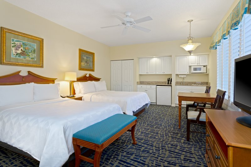 Holiday Inn & Suites Clearwater Beach S Harbour-Spacious Studio room with (2) queen beds and a kitchenette.<br/>Image from Leonardo