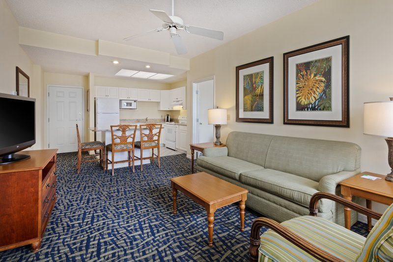 Holiday Inn & Suites Clearwater Beach S Harbour-Our 2 Queen Suites offer full kitchens and a living area.<br/>Image from Leonardo