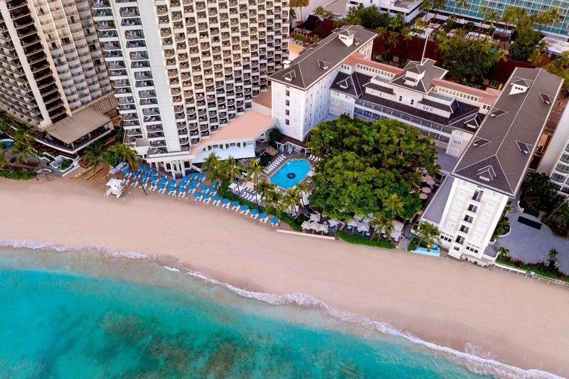 Moana Surfrider, A Westin Resort & Spa, Waikiki Beach - Exterior <br/>Image from Leonardo