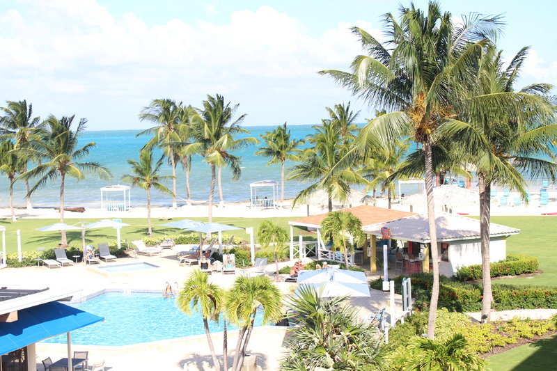 Holiday Inn Resort Grand Cayman-Pool Bar, Outdoor pool, poolside restaurant, ocean view, <br/>Image from Leonardo