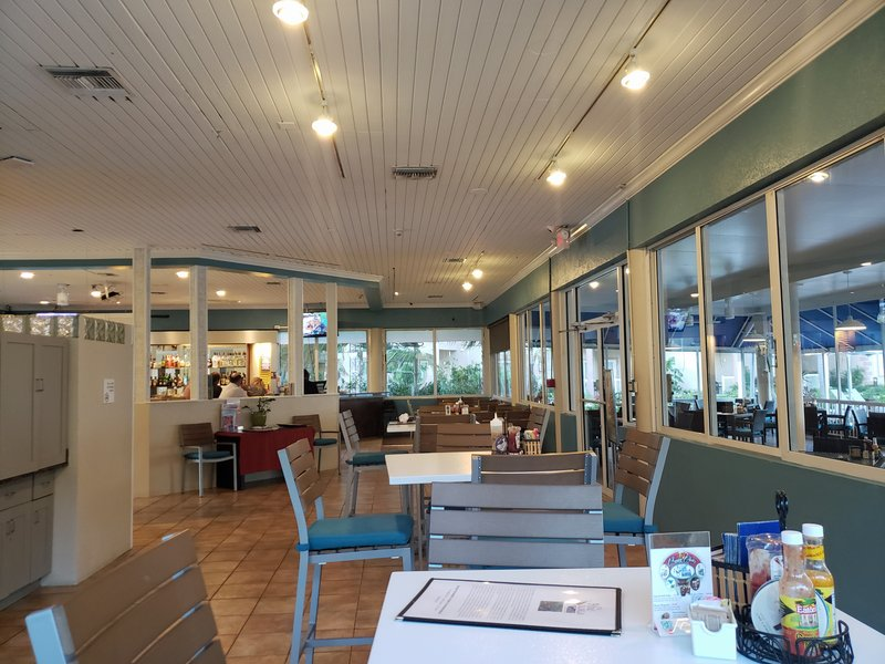Holiday Inn Resort Grand Cayman-Air Conditioned indoor seating. groups and events welcome<br/>Image from Leonardo