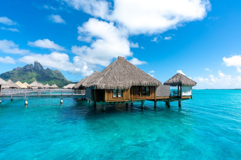 St Regis Resort Bora Bora - Exterior <br/>Image from Leonardo