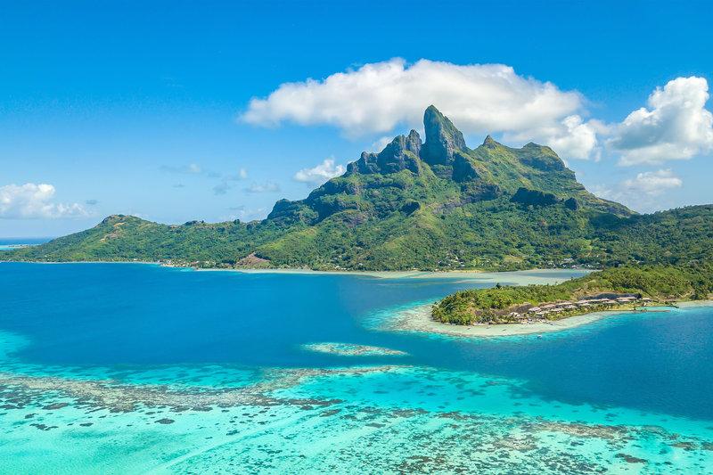 St Regis Resort Bora Bora - Exterior - Aerial View <br/>Image from Leonardo