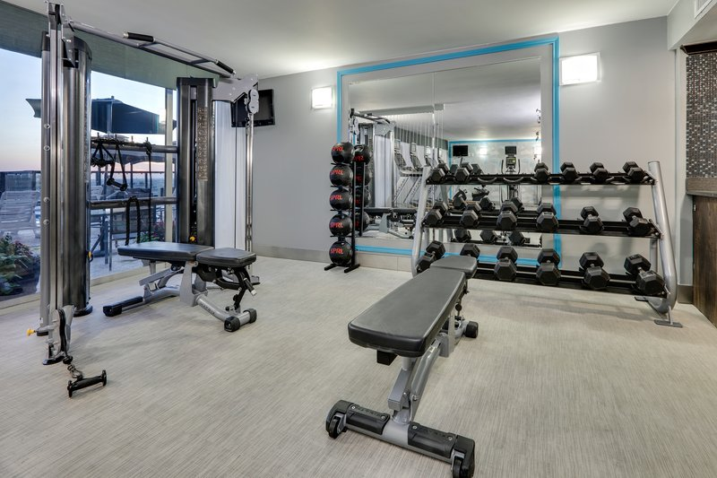 Crowne Plaza Dallas Downtown-Fitness Center<br/>Image from Leonardo