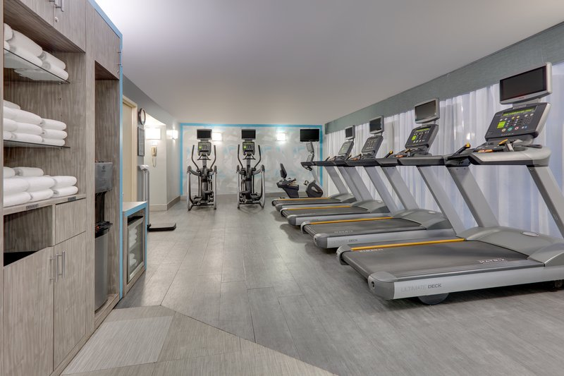 Crowne Plaza Dallas Downtown-Fitness Room<br/>Image from Leonardo