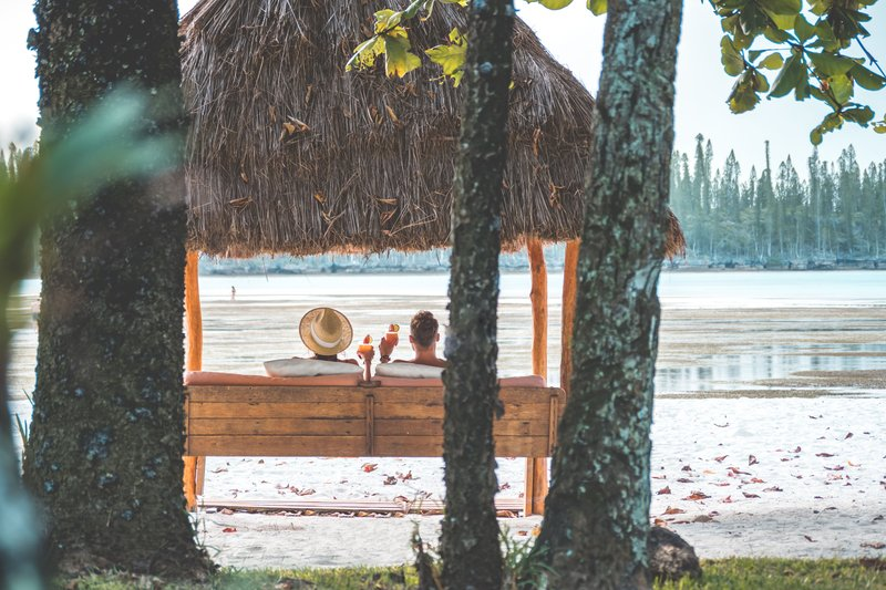 Le Meridien Ile Des Pins-Day Bed On The Resort's Beach<br/>Image from Leonardo