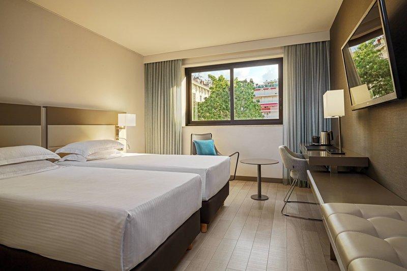 AC Hotel Nice-Twin/Twin Guest Room<br/>Image from Leonardo