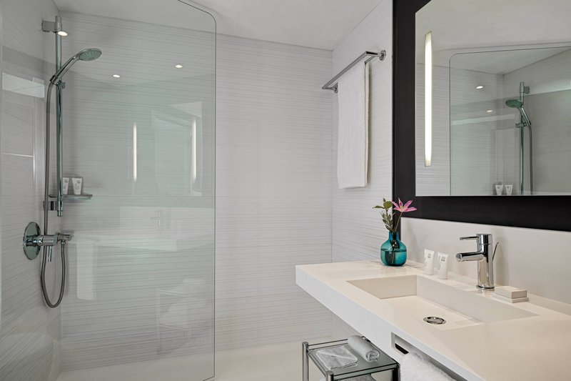 AC Hotel Nice-Guest Bathroom - Walk-In Shower<br/>Image from Leonardo