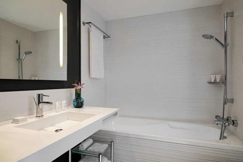 AC Hotel Nice-Guest Bathroom<br/>Image from Leonardo