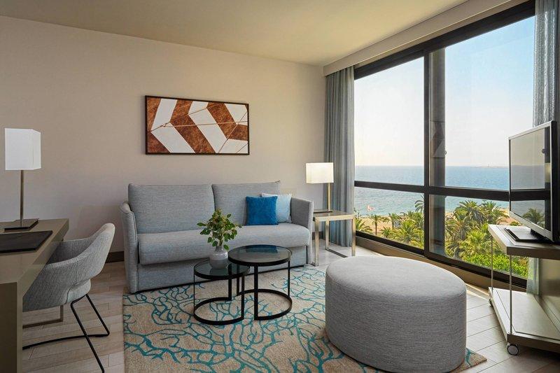 AC Hotel Nice-One-Bedroom Suite - Living Room<br/>Image from Leonardo