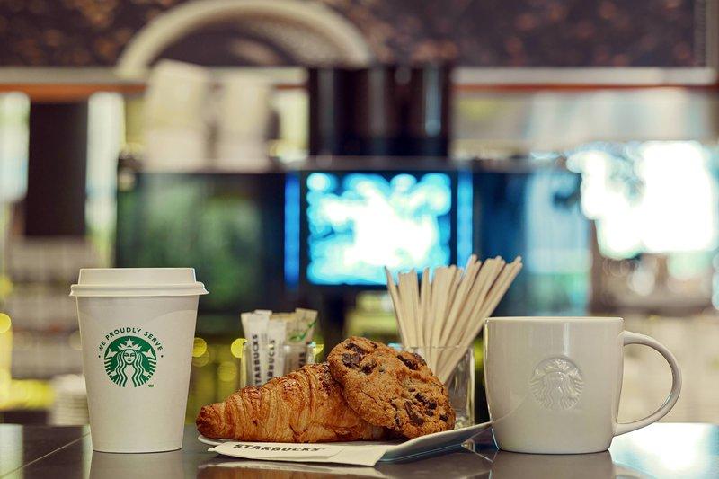 AC Hotel Nice-AC Lounge - Starbucks Coffee<br/>Image from Leonardo