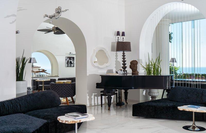 Hotel Villa Franca Positano-Lobby Area<br/>Image from Leonardo