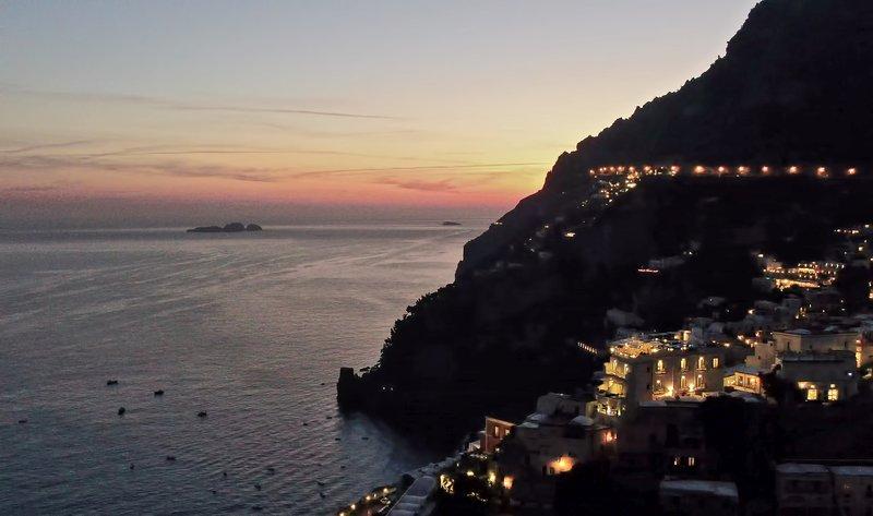 Hotel Villa Franca Positano-Sunset In Positano<br/>Image from Leonardo