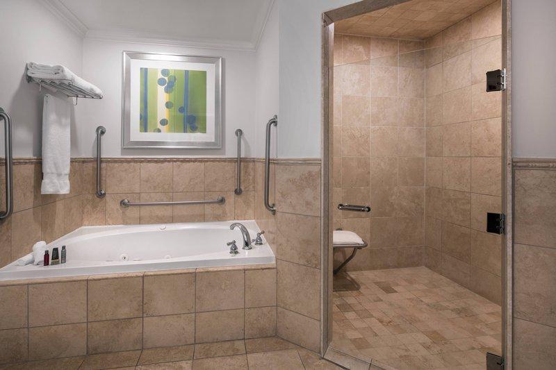 St. Kitts Marriott Resort-Accessible Bathroom<br/>Image from Leonardo