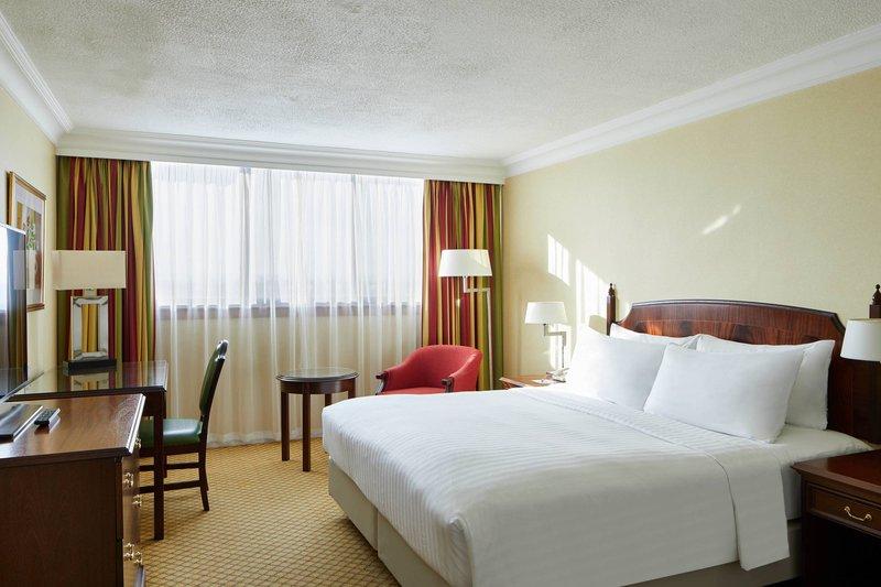 Marriott Glasgow-King Guest Room<br/>Image from Leonardo