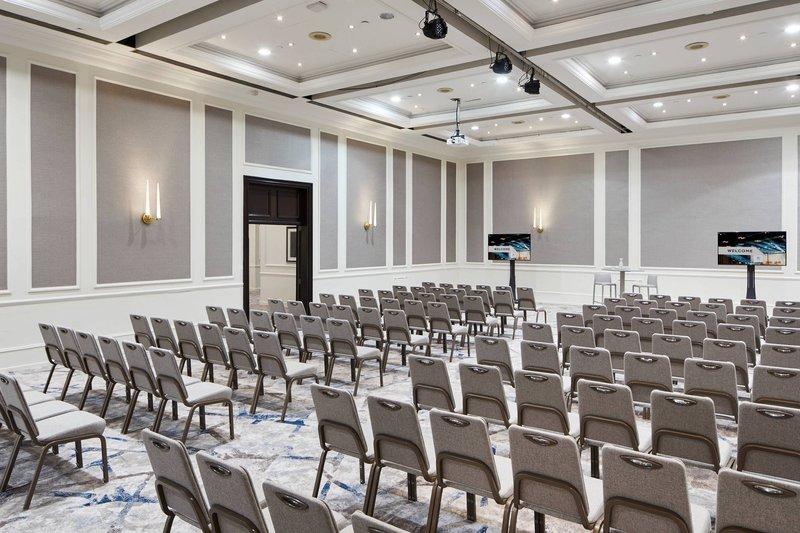 Marriott Glasgow-Queen Elizabeth Room 1 - Theatre Setup<br/>Image from Leonardo