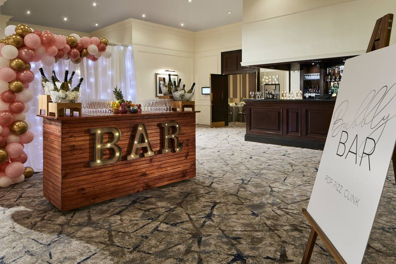 Marriott Glasgow-Clyde Suite Anteroom - Social Events<br/>Image from Leonardo