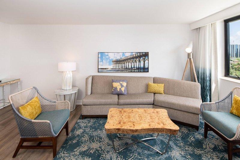 Renaissance Newport Beach Hotel-Executive Suite - Living Area<br/>Image from Leonardo