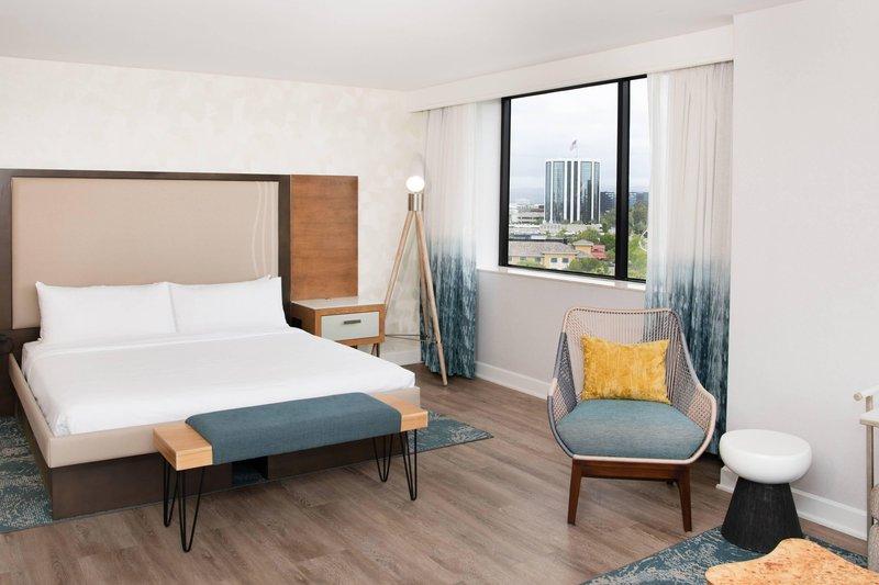 Renaissance Newport Beach Hotel-Suite - Sleeping Area<br/>Image from Leonardo