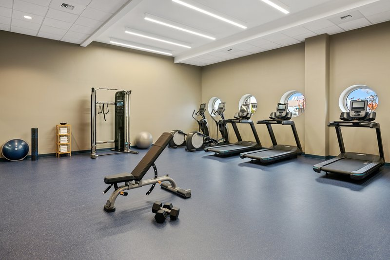 Hotel Indigo Seattle Everett Waterfront-Fitness Center<br/>Image from Leonardo