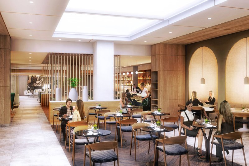 Montreal Marriott Chateau Champlain-New Restaurant - Coming late 2020<br/>Image from Leonardo