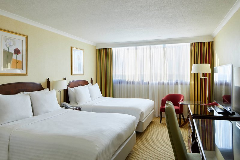 Marriott Glasgow-Double/Double Deluxe Guest Room<br/>Image from Leonardo