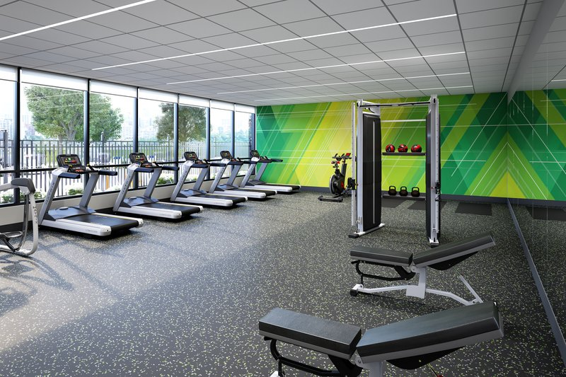 Holiday Inn Grand Rapids North-Fitness Center<br/>Image from Leonardo