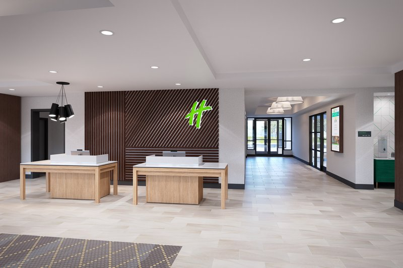 Holiday Inn Grand Rapids North-Front Desk<br/>Image from Leonardo