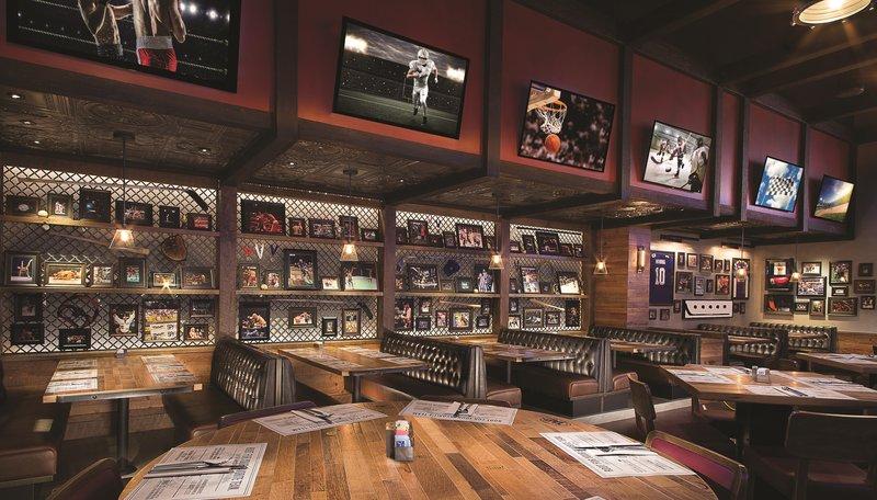MGM Grand Hotel & Casino - Tap Sports Bar <br/>Image from Leonardo