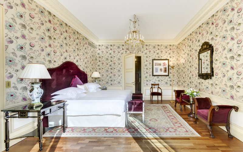 HOTEL METROPOLE MONTE CARLO-Carre d'Or Suite bedroom<br/>Image from Leonardo