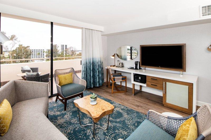 Renaissance Newport Beach Hotel-Suite - Living Room<br/>Image from Leonardo