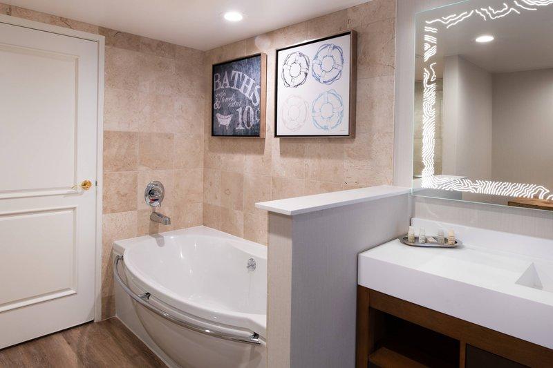 Renaissance Newport Beach Hotel-Suite Bathroom<br/>Image from Leonardo