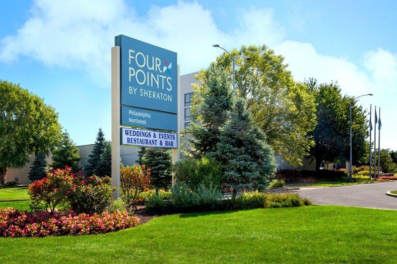 Four Points Philadelphia Northeast-Exterior Sign<br/>Image from Leonardo