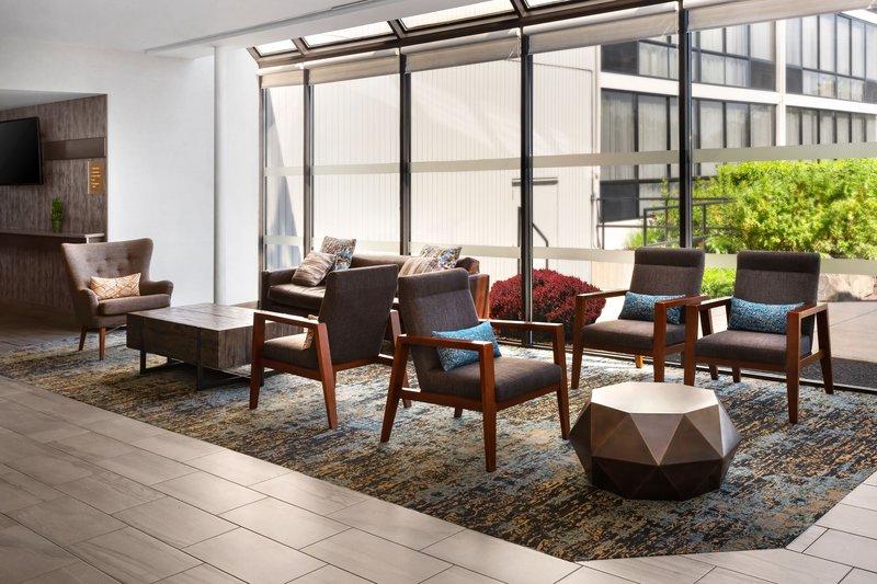 Four Points Philadelphia Northeast-Lobby Seating<br/>Image from Leonardo