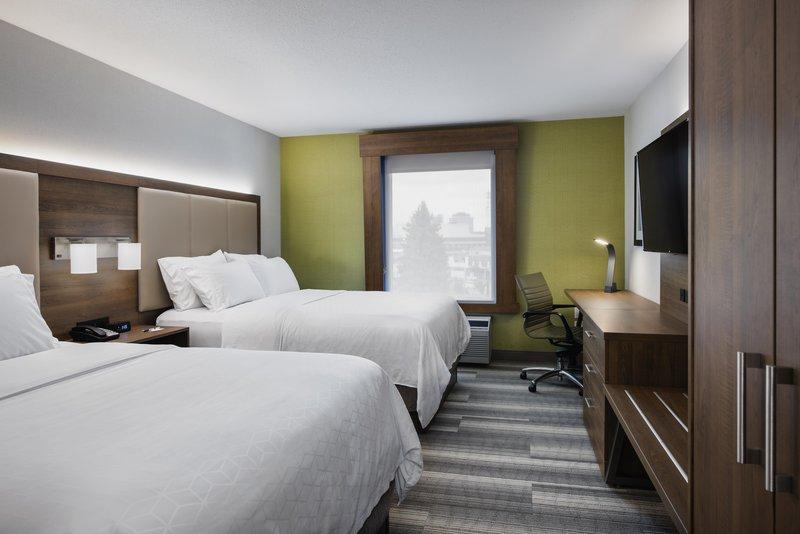 Holiday Inn Express Saskatoon Centre-Queen Bed Guest Room<br/>Image from Leonardo