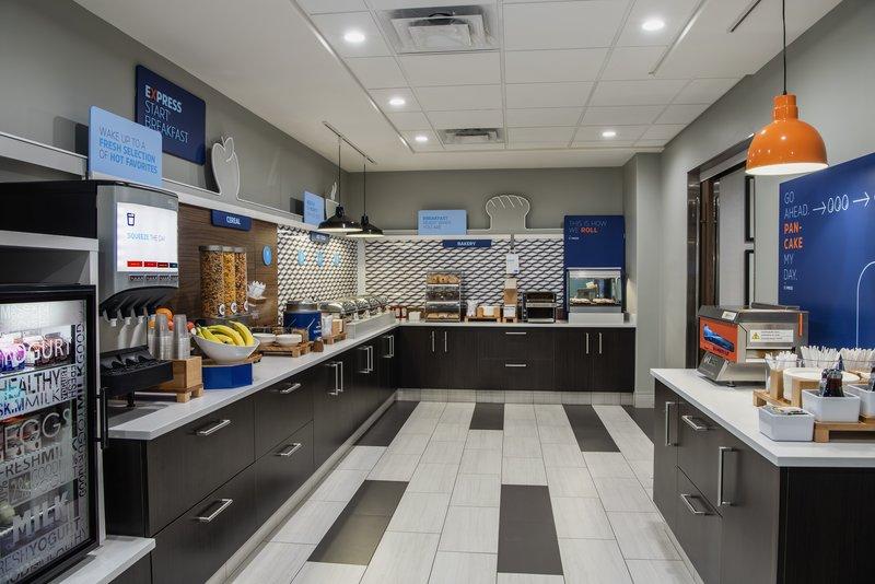 Holiday Inn Express Saskatoon Centre-Our new Express Start Breakfast<br/>Image from Leonardo