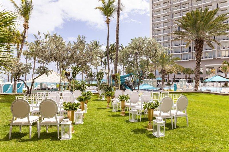 Marriott San Juan Resort - Sundeck Wedding Setup <br/>Image from Leonardo
