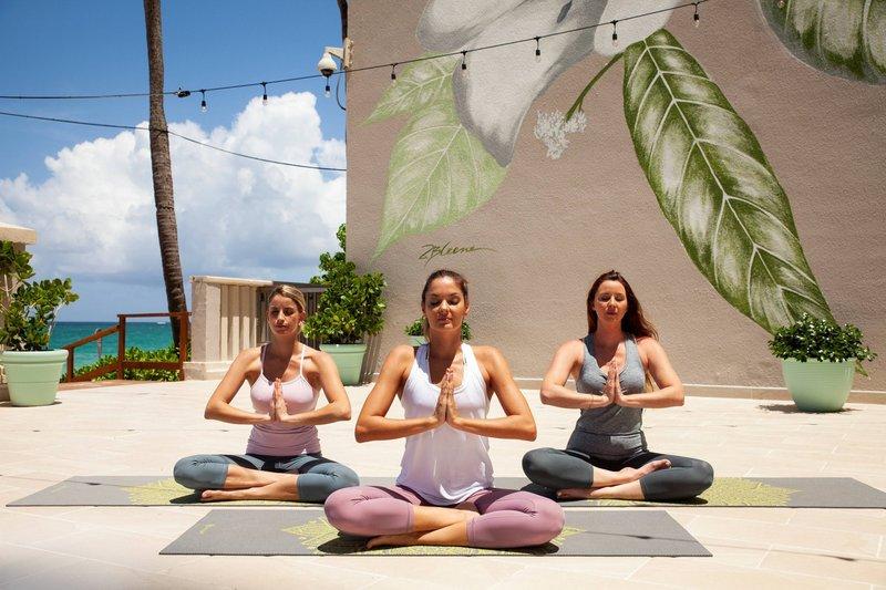 Marriott San Juan Resort - Outdoor Yoga <br/>Image from Leonardo