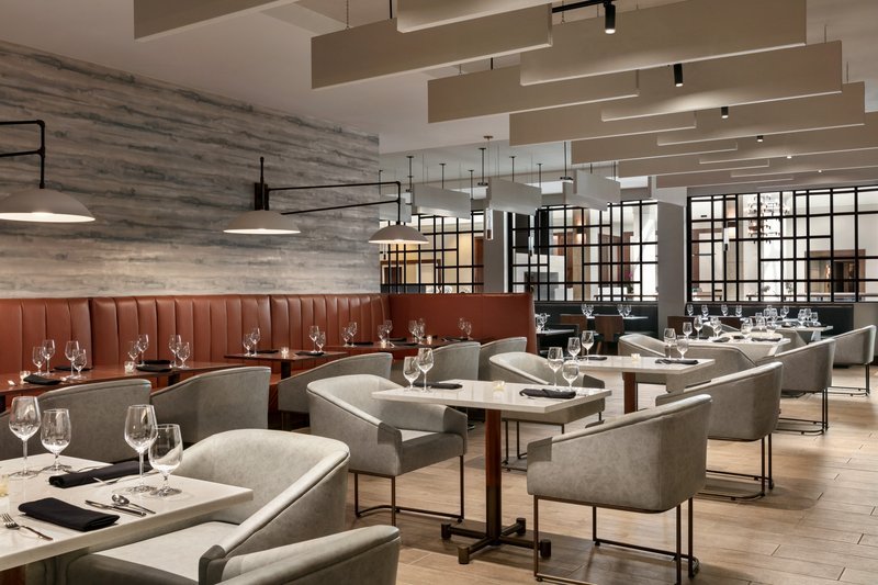 Crowne Plaza Philadelphia - King of Prussia-Our Forager Restaurant offers gourmet American fare and cocktails.<br/>Image from Leonardo