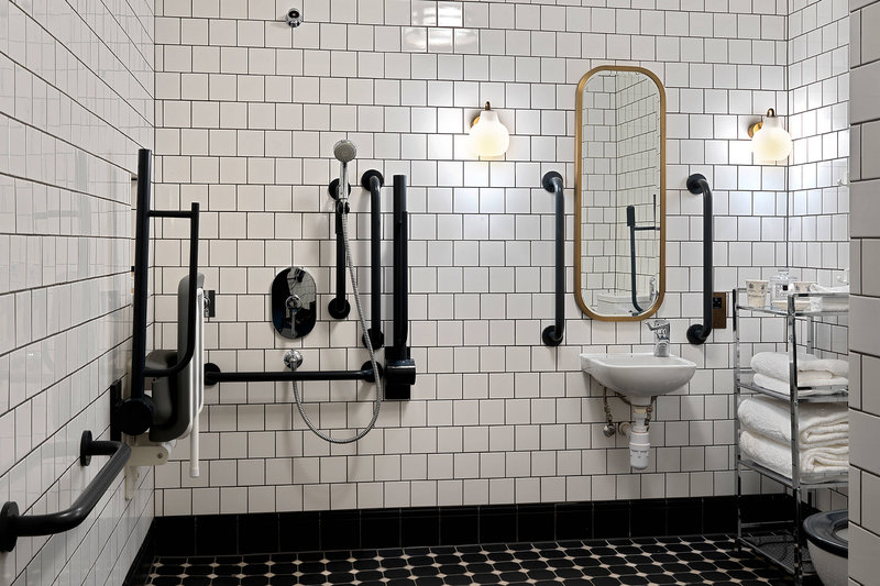 University Arms Hotel, Autograph Collection-Accessible Bathroom<br/>Image from Leonardo
