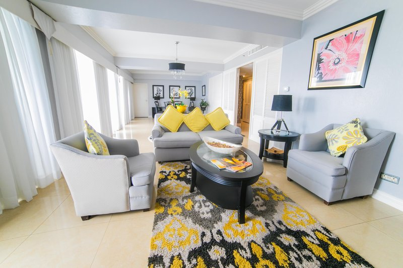 Jamaica Pegasus-Liguanea Suite Living Room<br/>Image from Leonardo