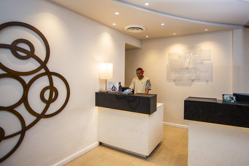 Holiday Inn Suva-Front Desk<br/>Image from Leonardo