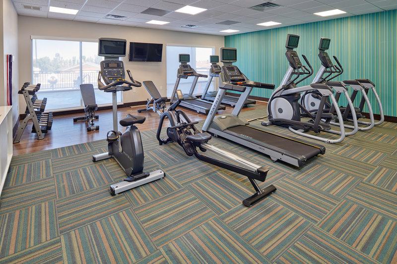 Holiday Inn Express El Paso - Sunland Park Area-On site Fitness Center Holiday Inn Express & Suites Sunland Park  <br/>Image from Leonardo