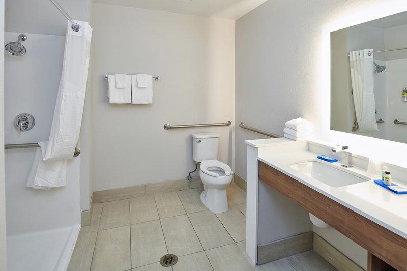 Holiday Inn Express El Paso - Sunland Park Area-Guest Bathroom El Paso Sunland Park <br/>Image from Leonardo