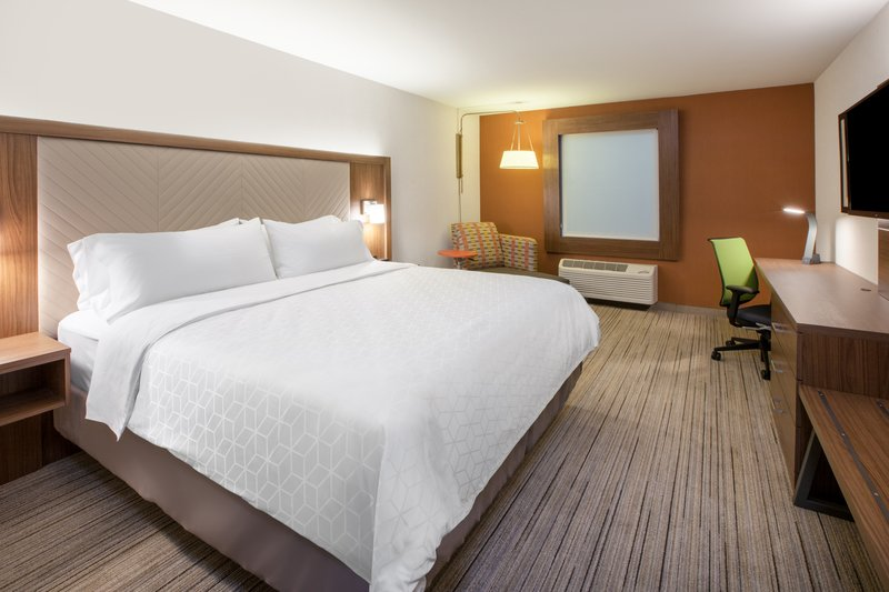 Holiday Inn Express & Suites Staunton-Spacious King Guest Room <br/>Image from Leonardo