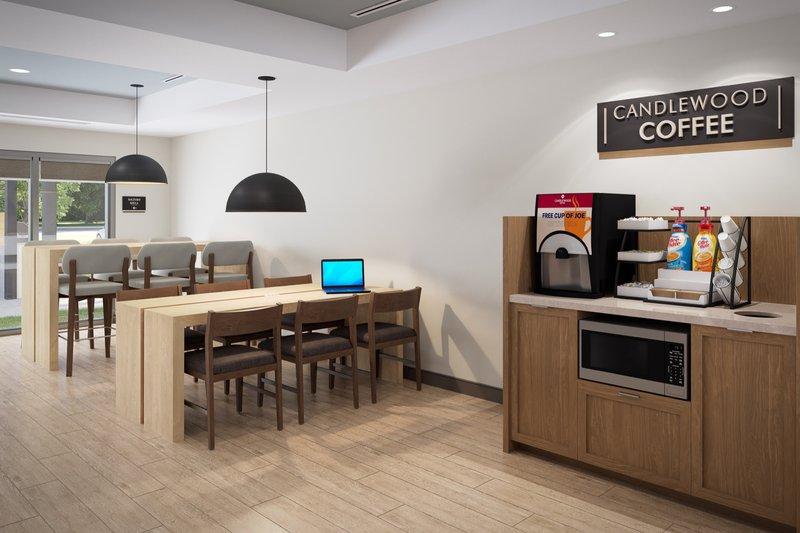 Candlewood Suites Kingston West-Breakfast Area<br/>Image from Leonardo