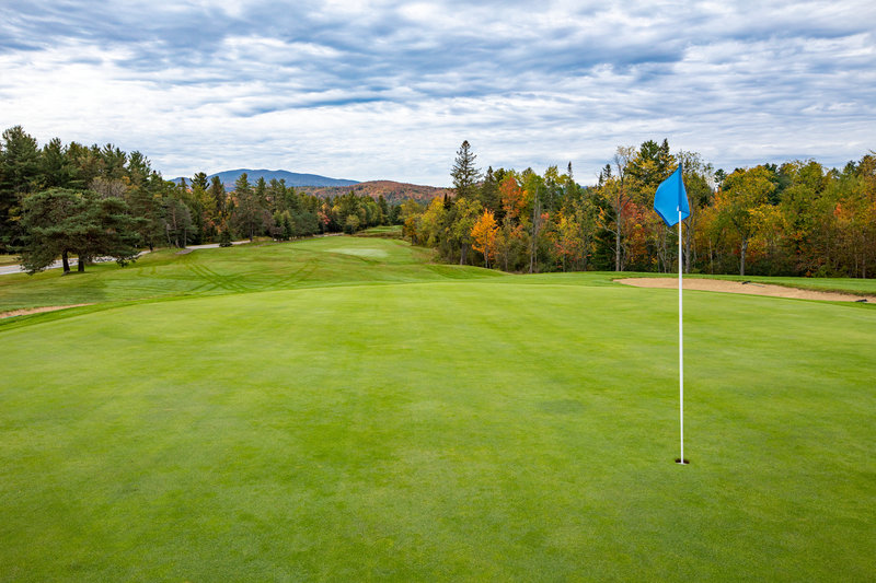 Crowne Plaza Lake Placid-Panoramic views on our links-style courses<br/>Image from Leonardo
