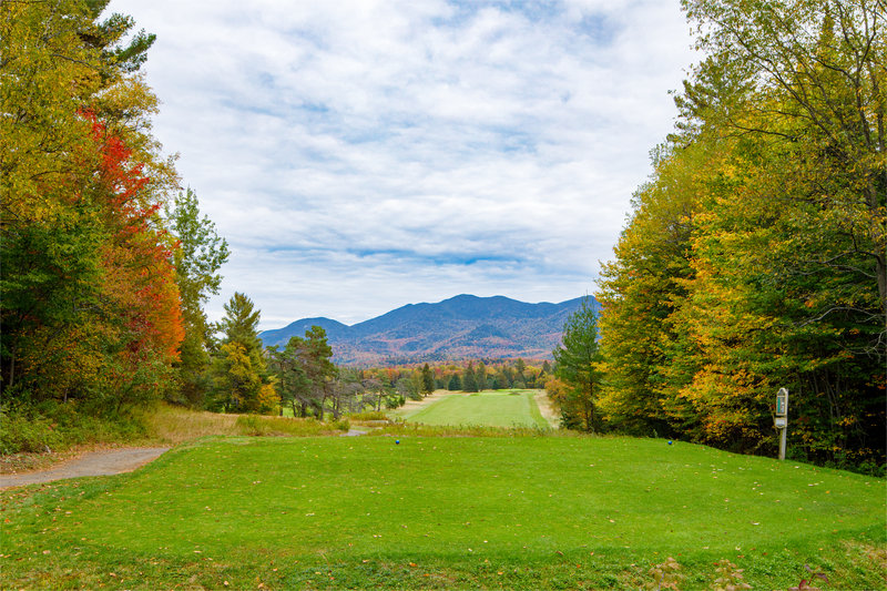 Crowne Plaza Lake Placid-Golf course with views of the Adirondack Mountains<br/>Image from Leonardo
